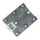 Mounting Foot for DIN Rail 44mm black
