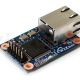 Compact RS232 Serial-to-Ethernet Module w/RJ45
