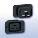 Power Entry Connector J Panel 16A 250VAC