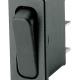 Rocker Switch 30x11 1-1 SPDT 10(4)A 250VAC Black F6,3