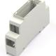 Enclosure Plastic for DIN-Rail 98x17,5x56,4mm grey