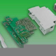 Enclosure Plastic for DIN -Rail 98x22,5x56,4mm grey