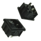 Power Entry Module C14 Panel 10A, Switch